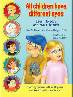 All Children Have Different Eyes book cover. Click here to go to the website.